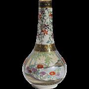 Meiji Period Antique Satsuma Spill Vase