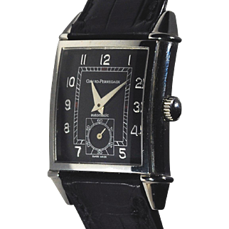 Girard Perregaux Vintage 1945 Small Seconds Polished Stainless Steel Watch