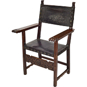 17th Century Spanish Renaissance Friars Chair