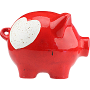 West German Big Ceramic Piggy Bank Moneybox..