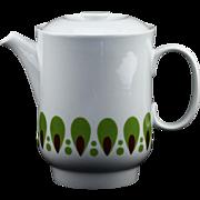 Richard Ginori Porcelain China Pop Art Teapot..