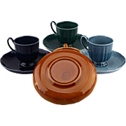 Societe Ceramique Maestricht Cup and Saucers Set 4x..