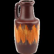 Scheurich Mid Century West German Pottery Retro Vintage 404-26 Vase..