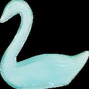 Abraham Palatnik Swan Lucite Acrylic Sculpture Figurine