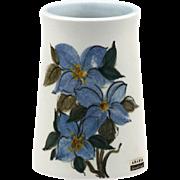 Arabia of Finland Ateljé Handmade Vase..