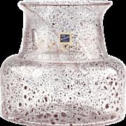 Björkshult Sweden - Hans-Christian Wagner - 1960's Art Glass Vase..