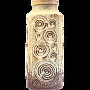 Scheurich Keramik West German Pottery Vase no 282-20 Decor Jura..