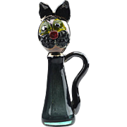 Murano freeform Glass Cat..