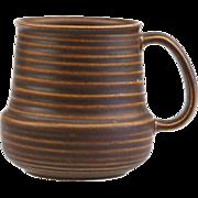 Arabia Finland Kaarna Large Beer Mug Cup Tankard..