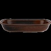 Arabia of Finland Ruska Rectangular Au Gratin Baker Serving Dish Stoneware..
