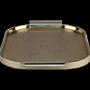 Kaymet Gold Waffle Waeve Texture Anodised Tray