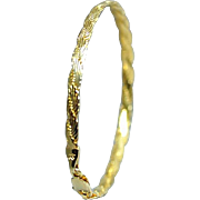 14 Karat Yellow Gold Bracelet. Free U.S. Shipping. International Shipping Charges May Vary.