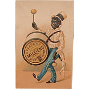 Antique Advertising Victorian Trading Card - Clark's Mile End Black Americana