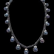 Grey Freshwater Pearls Artisan Necklace