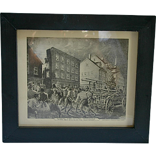 Modern Firefighting Apparatus prints: 1845 & 1855
