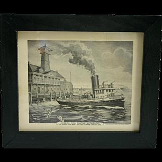 Modern Firefighting Apparatus prints: 1890 & 1897 - 1913 period