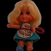 Vintage Mattel Sizzly Friddle Liddle Kiddle Doll #3513