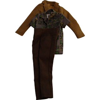 Vintage 1960s Ken Dreamboat Shirt, Jacket and Pants (1961-1963) #785