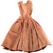 Vintage 1960s Barbie Candy Striper Volunteer (1964) Dress Pinafore #0889