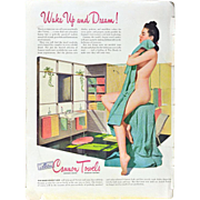 Cannon Towels WWII Advertisement