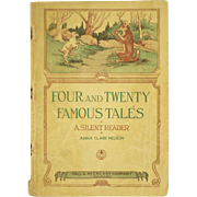 Vintage 1937 Four and Twenty Famous Tales Storybook