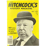 Vintage 1976 Alfred HItchcock's Mystery Magazine