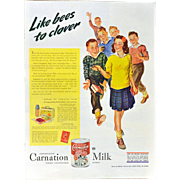 Carnation Milk WWII Advertisement