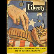 Vintage 1941 Liberty Magazine