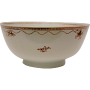 Delicately Decorated Chinese Export Porcelain Bowl