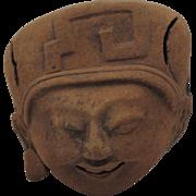 Veracruz Smiling Head
