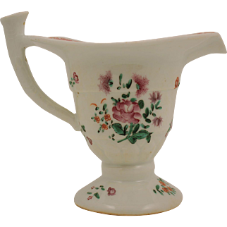 19th Century Chinese Export for the Portuguese Market Porcelain Gravy Server