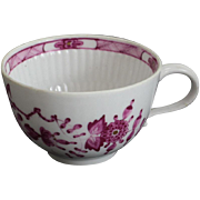 Meissen Marcolini Porcelain Cup, circa 1800. Rare Early Red Onion Pattern