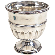 Tiffany & Co Sterling Silver Portugal Chalice, Gadroon Rim