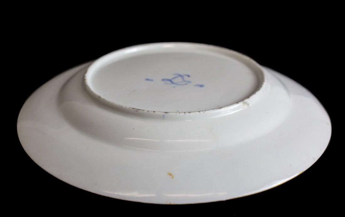 Sevres Porcelain Cabinet Plate Hand Painted Florals