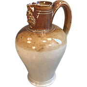 Antique English Salt Glaze small Stoneware Jug
