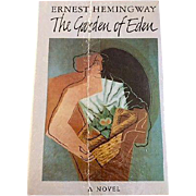 ERNEST HEMINGWAY - The Garden of Eden, 1st Edition - Hardcover - New in Orig. Shrinkwrap