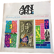 1969 Avant Garde Magazine #7 Revaluation of the Dollar    19 Artists Design a New One-Dollar Bill