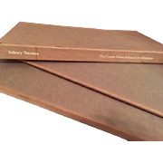"""Cooper Union School of Architecture """"Solitary Travelers"""" Boxed Limited Edition Set"""