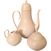 Rosenthal Romance Coffee Pot, Sugar & Creamer by Bjorn Wiinblad, circa 1970'