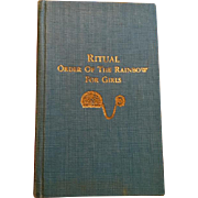 Masonic Ritual Order of the Rainbow for Girls, 1948