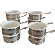 Gorham Sterling Silver Reticulated Ramekins A8025 set of 10