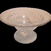 Fostoria Laurel Compote Dish