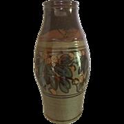 Mid Century Floyd Kemp Large Earthenware Floor Vase