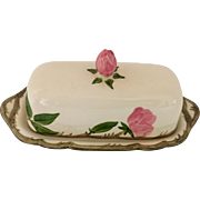 Franciscan Desert Rose Covered 1/4 Lb Butter Dish, Circa 1940s
