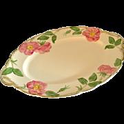 Franciscan Desert Rose Mid Size Serving Platter, circa 1942
