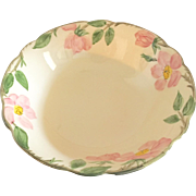 """Franciscan Desert Rose 8"""" Serving Bowl, circa late 1940s - early 1950s"""
