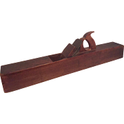 Antique 26 Inch Bench Plane by Hermon Chapin