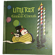 Little Toot on the Grand Canal by Hardie Gramatky, 1968, 1st Edition, Signed