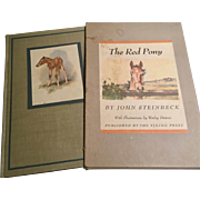 The Red Pony by John Steinbeck  with illustrations by Wesley Dennis, 1945