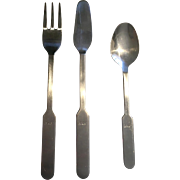 Vintage Airline Flatware from SAS by Norstaal Norway Bernadotte